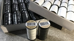 0 3001 100% polyester sewing threads